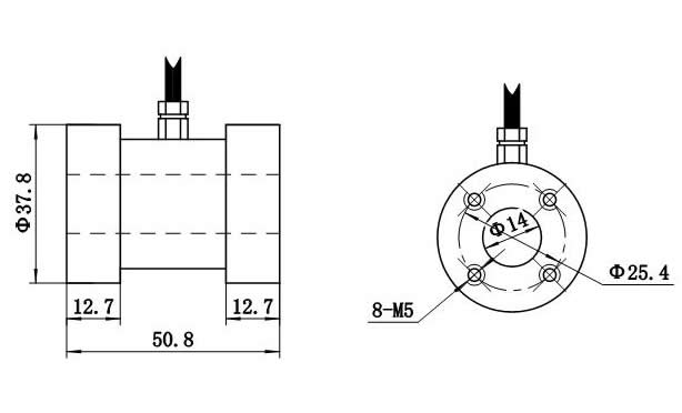 LZ-N3高稳定性静态扭矩传感器