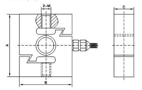 LZ-LS5系列S型拉力传感器